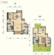 清水湾・幸福枫景6室3厅4卫0平方米户型图