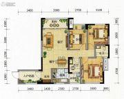 九腾1街区3室2厅1卫99平方米户型图