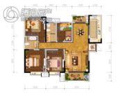 辰宇世纪城4室2厅2卫142平方米户型图