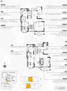 银隆开元名郡4室3厅2卫226平方米户型图