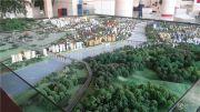 城中央沙盘图