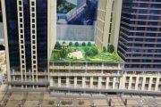 新合作城市广场沙盘图