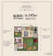 碧桂园十里江南3室2厅2卫0平方米户型图