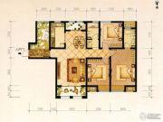 宝龙城市广场3室2厅2卫142平方米户型图