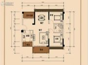 信鸿熙岸花园2室2厅1卫0平方米户型图