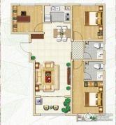 林荫春天3室2厅2卫103平方米户型图
