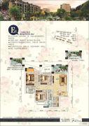 泰合蓝湾香郡3室2厅2卫93平方米户型图