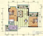 滨洲上城2室2厅1卫0平方米户型图