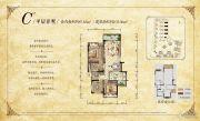 华宇锦绣花城102平方米户型图
