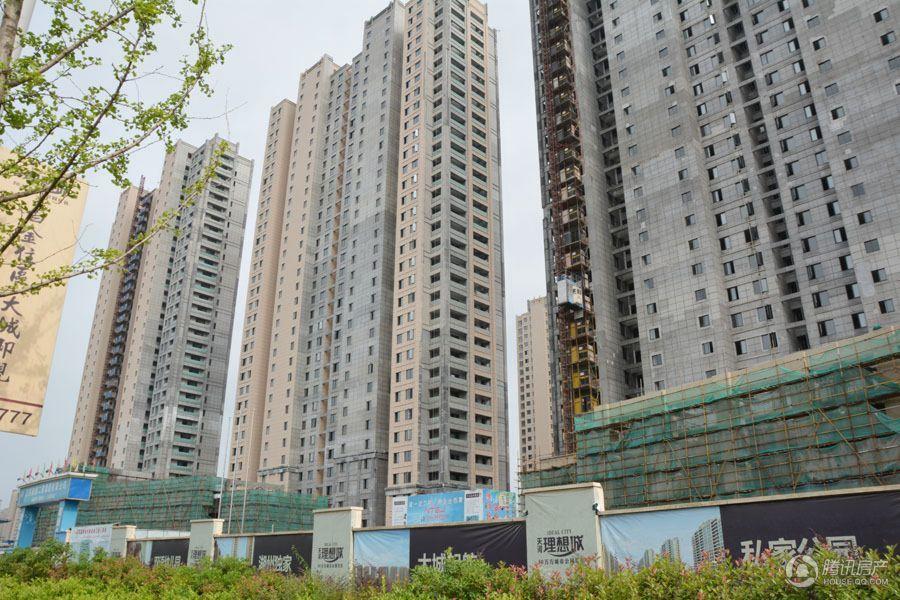 天河理想城项目实景图(2015.6.18)