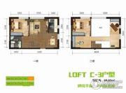 BOBO悠乐城0室0厅0卫68平方米户型图