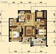 中顺上尚府2室2厅1卫87平方米户型图