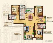 奥北公元3室3厅2卫153平方米户型图