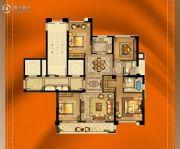 大诚名座4室2厅2卫141平方米户型图