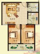 新奥花园2室2厅1卫0平方米户型图