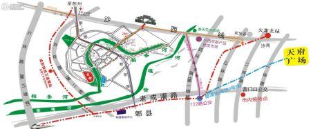 香江半岛交通图