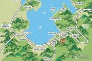 云山麓池交通图