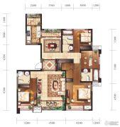 新建中心4室2厅3卫0平方米户型图