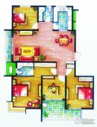 上书房4室2厅2卫164平方米户型图