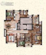 莲桥府5室2厅3卫220平方米户型图