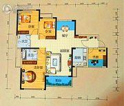 龙光阳光海岸3室2厅2卫113--114平方米户型图