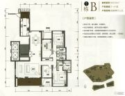 华润银湖蓝山4室2厅3卫233平方米户型图