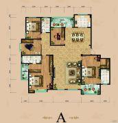 东岳国际5室2厅3卫287平方米户型图
