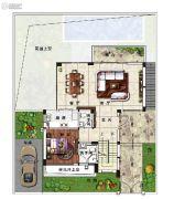 雅居乐原乡4室3厅0卫308平方米户型图