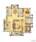 恒景国际花园 多层3室2厅2卫138平方米户型图