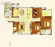 常绿大阅城5室2厅2卫131平方米户型图