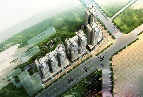贵人国际一期紫荆城效果图