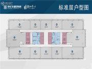 绿地滨湖国际城3室2厅1卫108平方米户型图