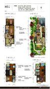 八达岭孔雀城・天赋山房0平方米户型图