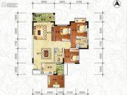 天琴湾4室2厅2卫90--110平方米户型图