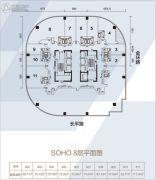 汕头苏宁广场0室0厅0卫57--117平方米户型图