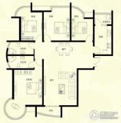 星河御城4室2厅2卫171平方米户型图
