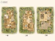 中国铁建西派澜岸4室3厅5卫296平方米户型图