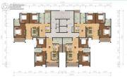 阳光福园2室2厅1卫89--90平方米户型图