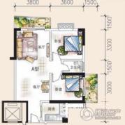吉蔚苑2室2厅1卫0平方米户型图