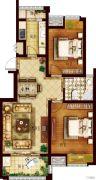 创维乐活城2室2厅1卫86平方米户型图