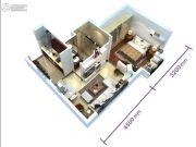 恒大帝景0室0厅0卫47平方米户型图