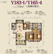 虎门碧桂园3室2厅2卫0平方米户型图