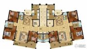 天御花园3室2厅3卫162平方米户型图