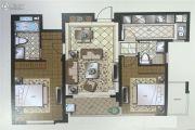 苏州湾壹号2室2厅2卫100平方米户型图