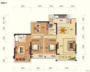 路桥锦绣国际4室2厅2卫129平方米户型图