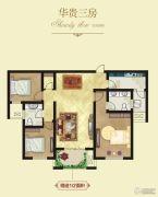建业壹号城邦3室2厅2卫126平方米户型图