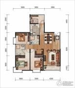 昆明广场4室2厅2卫0平方米户型图