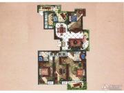九洲新世界4室2厅2卫167平方米户型图