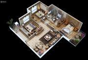 满堂悦MOMΛ3室2厅2卫115平方米户型图