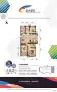 中兴绿谷3室2厅2卫115平方米户型图